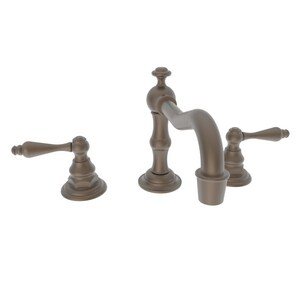 Newport Brass Chesterfield 1.2 gpm 3-Hole Widespread Lavatory Faucet with Double Lever Handle in English Bronze N930L/07