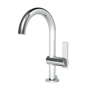 Newport Brass Priya Single Handle Vessel Filler Bathroom Sink Faucet in Polished Chrome N2403/26