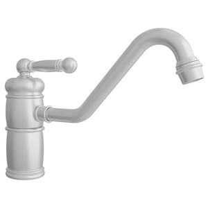 Newport Brass Nadya Single Handle Kitchen Faucet in Stainless Steel - PVD N940/20