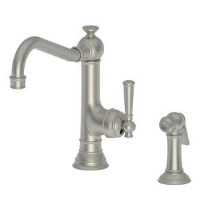 Newport Brass Jacobean Single Handle Kitchen Faucet in Gun Metal N2470-5313/14