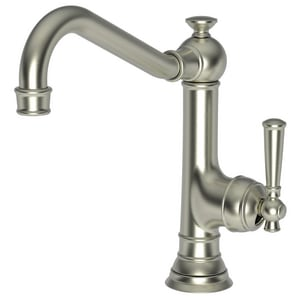 Newport Brass Jacobean 1-Hole Swivel Kitchen Faucet with Single Lever Handle in Satin Nickel - PVD N2470-5303/15S