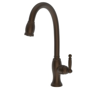 Newport Brass Nadya Single Handle Pull Down Kitchen Faucet in English Bronze N2510-5103/07