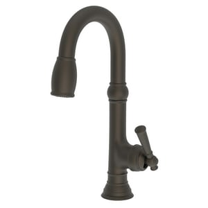 Newport Brass Jacobean Single Lever Handle Bar Faucet in Weathered Brass N2470-5223/03W