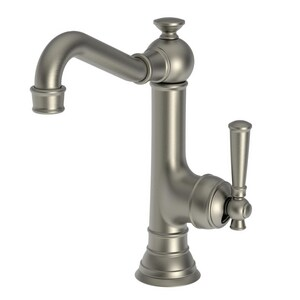 Newport Brass Jacobean Single Lever Handle Bar Faucet in Gun Metal N2470-5203/14