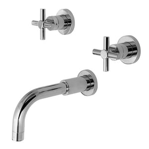 Newport Brass East Linear Pressure Balance Tub and Shower Trim with Double Cross Handle N3-995