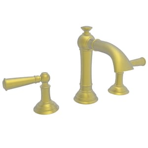 Newport Brass Aylesbury Two Handle Bathroom Sink Faucet in Satin Brass - PVD N2410/04
