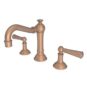 Newport Brass Jacobean Two Handle Bathroom Sink Faucet in Antique Copper N2470/08A