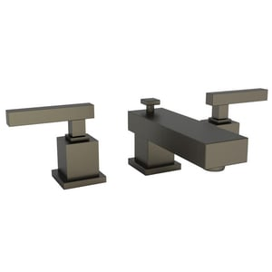 Newport Brass Cube 2 Two Handle Bathroom Sink Faucet in English Bronze N2020/07