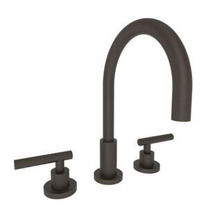 Newport Brass East Linear Two Handle Bathroom Sink Faucet in Oil Rubbed Bronze N990L/10B