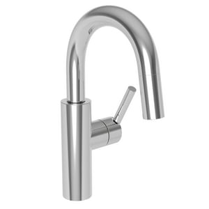 Newport Brass East Linear Single Lever Handle Bar Faucet in Polished Chrome N1500-5223/26