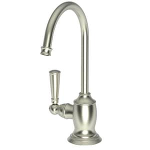 Newport Brass Jacobean 1.5 gpm 1 Hole Deck Mount Hot Water Dispenser with Single Lever Handle in Satin Nickel - PVD N2470-5613/15S
