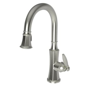Newport Brass Metropole Single Handle Pull Down Kitchen Faucet in Satin Nickel - PVD N1200-5103/15S