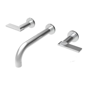 Newport Brass Priya 1.2 gpm 3-Hole Lavatory Faucet with Double Lever Handle in Polished Chrome N3-2481/26