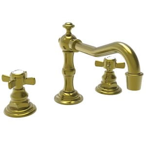 Newport Brass Fairfield Two Handle Bathroom Sink Faucet in Satin Brass - PVD N1000/04