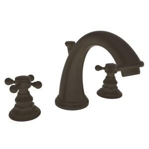 Newport Brass Alveston Two Handle Bathroom Sink Faucet in Oil Rubbed Bronze N890/10B