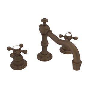 Newport Brass Chesterfield Two Handle Bathroom Sink Faucet in English Bronze N930/07