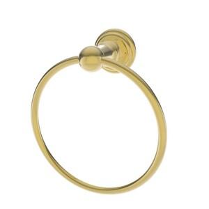 Newport Brass Alveston 7 in. Towel Ring in Forever Brass - PVD N13-09/01