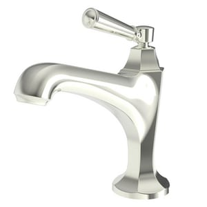 Newport Brass Metropole Single Handle Monoblock Bathroom Sink Faucet in Polished Nickel - Natural N1203/15