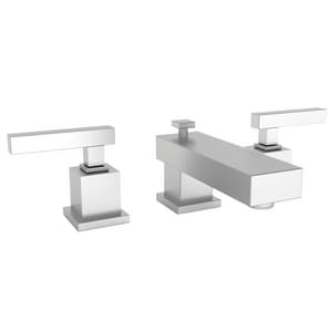 Newport Brass Cube 2 Two Handle Bathroom Sink Faucet in Stainless Steel - PVD N2020/20