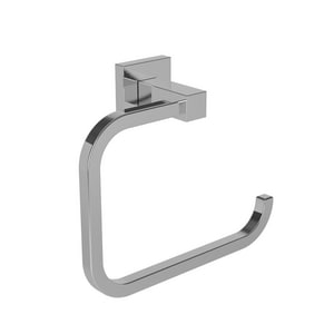 Newport Brass Prezlee Rectangular Open Towel Ring in Polished Chrome N83-09/26
