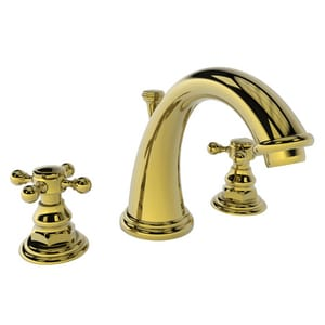 Newport Brass Alveston Two Handle Bathroom Sink Faucet in Forever Brass - PVD N890/01
