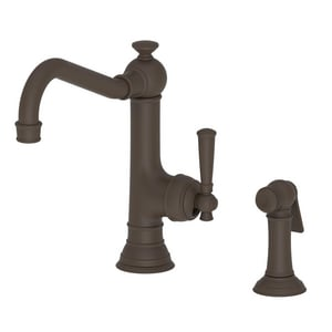Newport Brass Jacobean Single Handle Kitchen Faucet in Oil Rubbed Bronze N2470-5313/10B