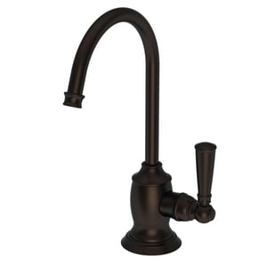 Newport Brass Jacobean 1 gpm 1 Hole Deck Mount Cold Water Dispenser with Single Lever Handle in Weathered Copper - Living N2470-5623/08W