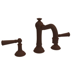 Newport Brass Jacobean Two Handle Bathroom Sink Faucet in Oil Rubbed Bronze - Hand Relieved N2470/ORB