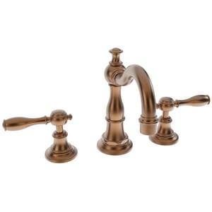 Newport Brass Victoria Two Handle Bathroom Sink Faucet in Antique Copper N1770/08A