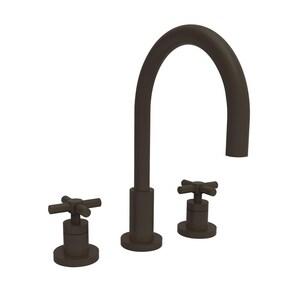 Newport Brass East Linear Two Handle Bathroom Sink Faucet in Oil Rubbed Bronze N990/10B