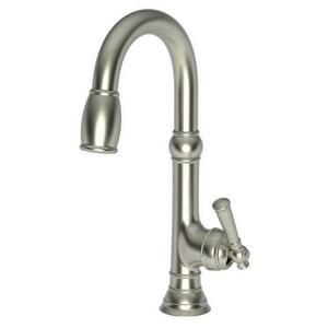 Newport Brass Jacobean Single Lever Handle Bar Faucet in Satin Nickel - PVD N2470-5223/15S