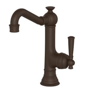Newport Brass Jacobean Single Lever Handle Bar Faucet in Oil Rubbed Bronze N2470-5203/10B