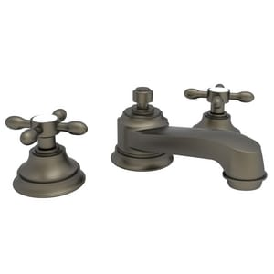 Newport Brass Astaire 3-Hole Widespread Lavatory Faucet with Double Cross Handle in English Bronze N1640/07