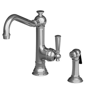 Newport Brass Jacobean Single Handle Kitchen Faucet in Polished Chrome N2470-5313/26