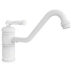 Newport Brass Nadya Single Handle Kitchen Faucet in White N940/50
