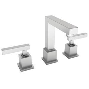 Newport Brass Cube 2 Two Handle Widespread Bathroom Sink Faucet in Satin Nickel - PVD N2030/15S