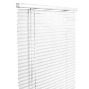 Lotus & Windoware 46-1/2 x 48 in. Aluminum Cordless Blind in White LAMX46548WH
