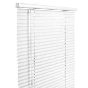 Lotus & Windoware 31 x 60 in. Vinyl Cordless Plus Mini Blind LRLX3160WH
