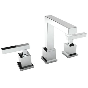 Newport Brass Cube 2 Two Handle Bathroom Sink Faucet in Polished Nickel - Natural N2030/15