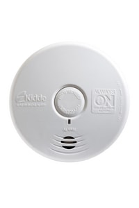 Kidde Sealed Lithium Battery Led Smoke Alarm In White 21010064