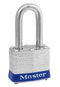 Master Lock 1-9/16 x 1-1/2 x 3/4 in. Padlock Not Keyed in Steel M3UPLF
