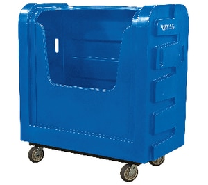 Royal Basket Trucks Poly Bulk Truck in Blue RF36BLXBFC6UNN