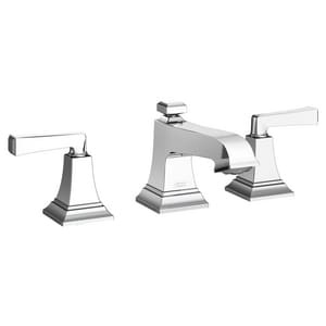 American Standard Town Square® S Two Handle Widespread Bathroom Sink Faucet in Polished Chrome A7455801002