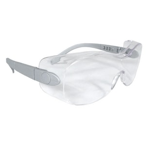 *SHEATH Clear LENS Silver Frame Safety Glasses RSH610 at Pollardwater