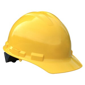 Radians Cap Style Hard Hat with Ratchet Suspension Yellow RGHR6YELLOW at Pollardwater