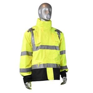 Radians XXXL Size Waterproof Jacket RRW323Z1Y3X at Pollardwater