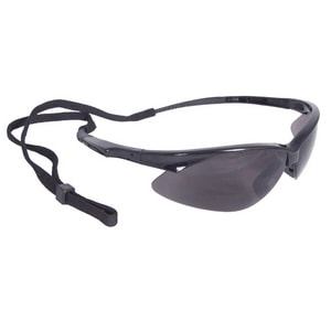 Radians Safety Glasses Black Frame with Smoke Lens RAP120 at Pollardwater