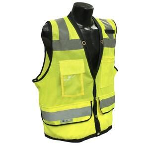 Radians XL Size Heavy Duty Surveyor Safety Vest RSV592ZGDXL
