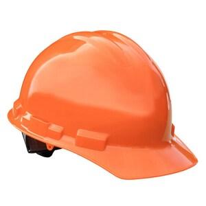 Radians Cap Style Hard Hat with Ratchet Suspension Orange RGHR6ORANGE at Pollardwater