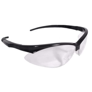 Radians Safety Glasses Black Frame with Clear Lens RAP110 at Pollardwater